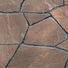 Терракотово-красный песчаник